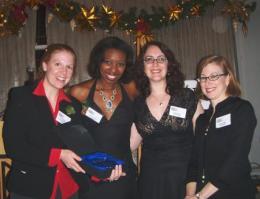 Cara Reichel Tamilla Woodard  Rachel Reiner Naomi Grabel - Josephine Abady Award_1