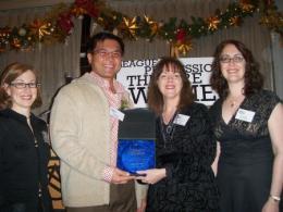 Naomi Grabel, Randy Gener, Caridad Svich, Rachel Reiner - Lee Reynolds Award_0