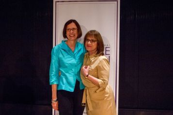 Kathy Henderson and Patti LuPone