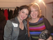 Romy Nordlinger, Networking Committee Co-Chair, Penny Jackson, Playwright